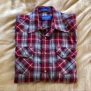 Men's Pendleton- long sleeve shirt